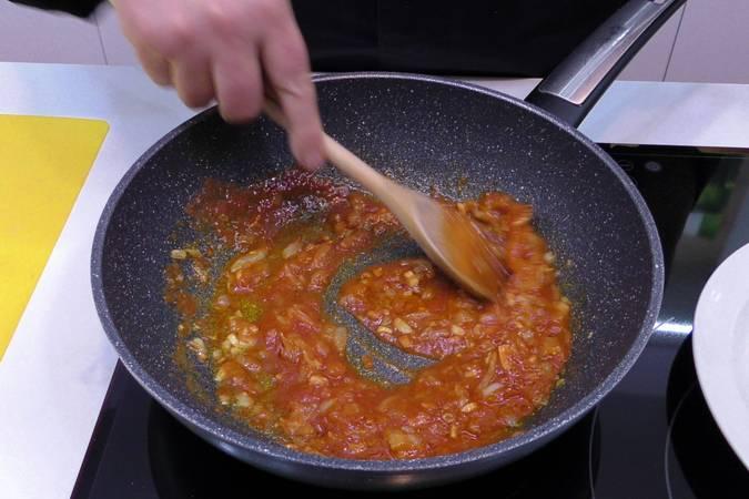 Paso 2 de Oreja de cerdo en salsa picante