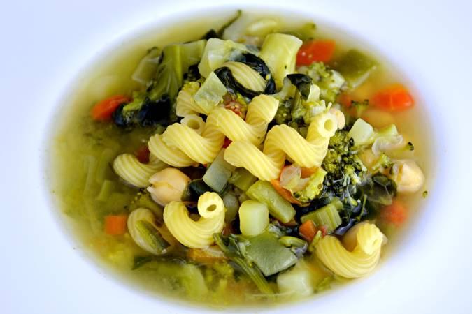 Paso 6 de Sopa de verduras para dieta