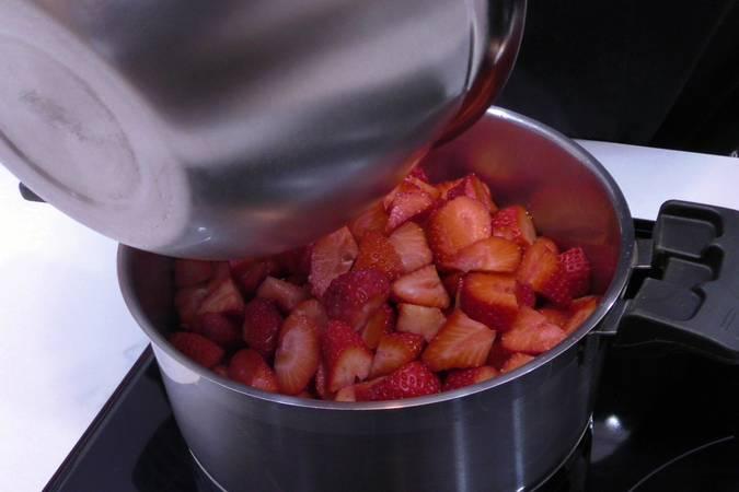 Cocinar las fresas