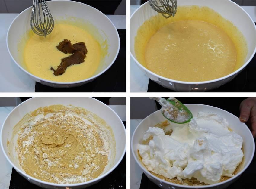 Paso 3 de Bizcocho de crema de castañas