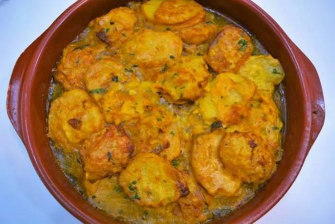 Paso 6 de Patatas rebozadas también llamadas patatas a la importancia