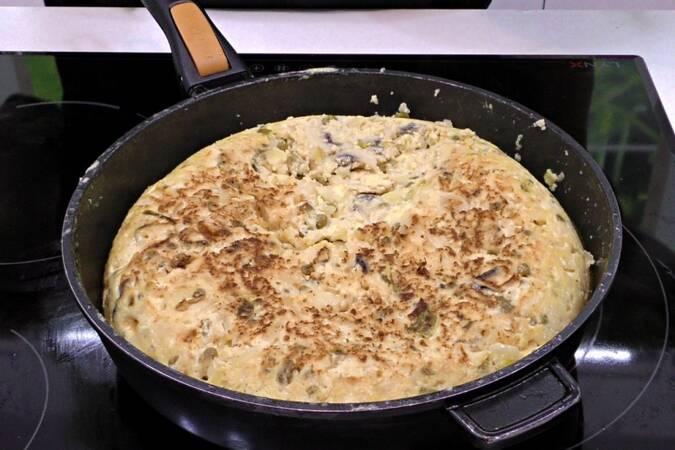 Paso 5 de Receta de tortilla de patata campera