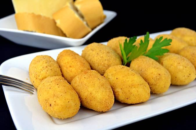 Paso 7 de Croquetas de queso muy cremosas