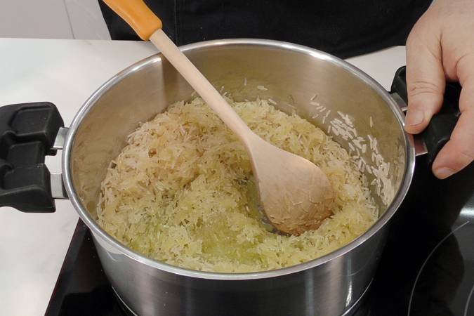 Paso 1 de Ensalada de arroz muy nutritiva