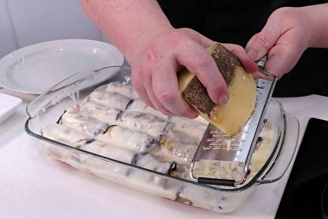 Paso 11 de Receta para hacer canelones de berenjena