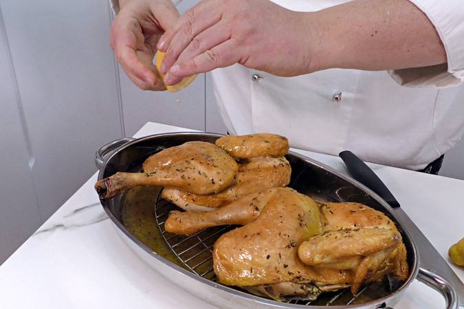 Paso 5 de Recetas para dieta, pollo asado al horno con especias