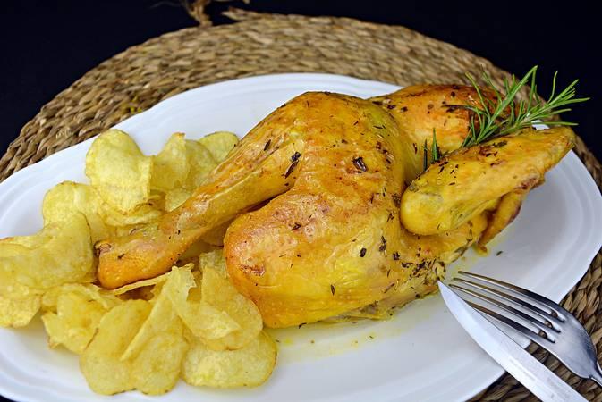 Paso 6 de Recetas para dieta, pollo asado al horno con especias