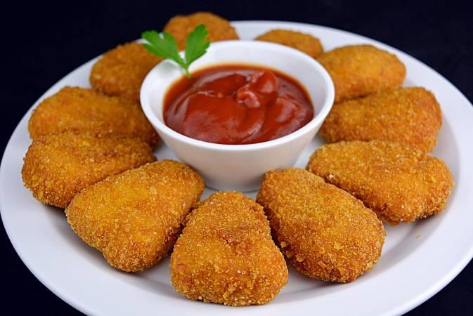Ya hemos terminado la receta de nuggets de pollo