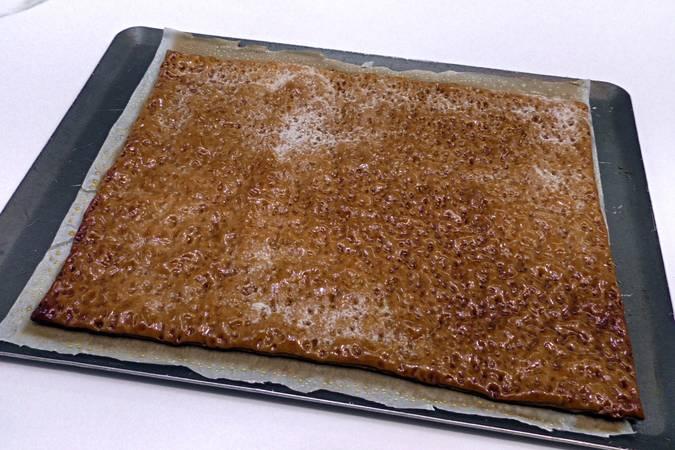 Paso 4 de Tarta de hojaldre con frambuesas