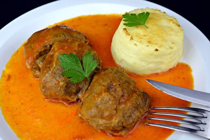Paso 10 de Carrilleras con salsa picante y puré de patata casero