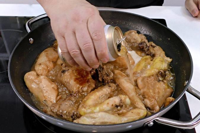 Paso 4 de Receta de pollo agridulce con cerveza