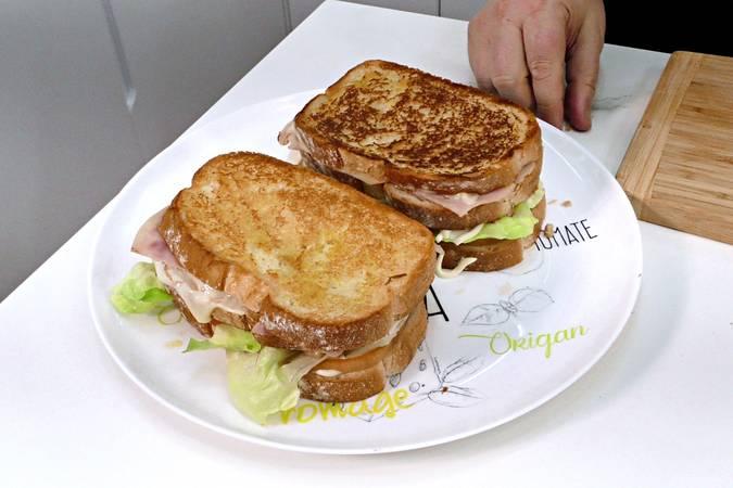 Paso 4 de Cómo hacer un sándwich completo