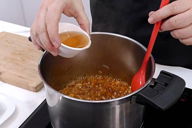 Paso 4 de Salsa Barbacoa o salsa BBQ casera