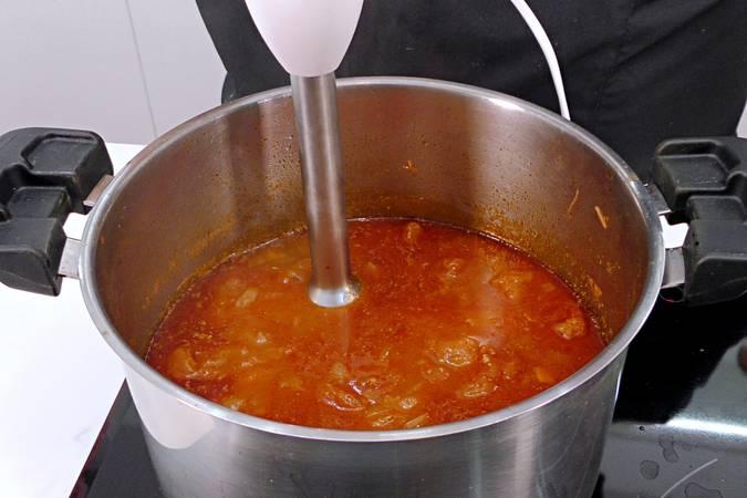 Paso 7 de Salsa Barbacoa o salsa BBQ casera