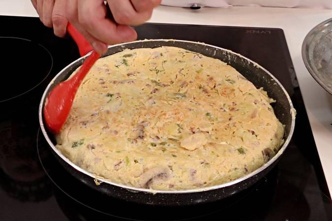Paso 7 de Tortilla paisana vasca con Jon Marin de Masterchef6