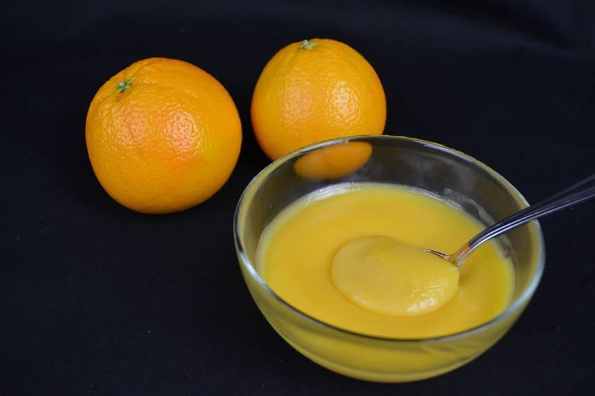 Paso 5 de Crema inglesa de naranja