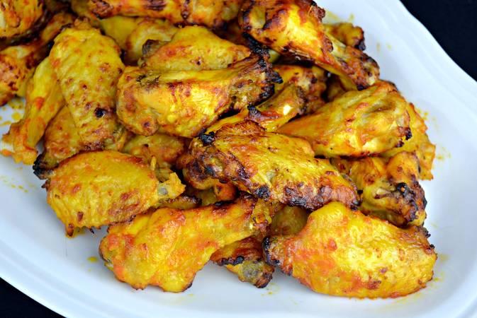 Paso 5 de Alitas de pollo con salsa barbacoa casera BBQ