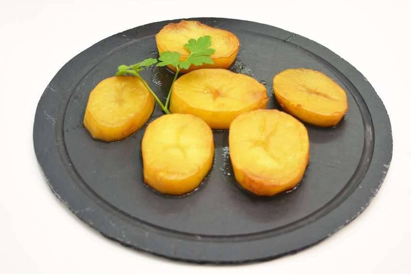 Paso 4 de Patatas asadas con caldo de carne