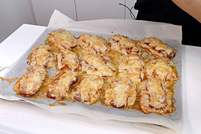 Paso 5 de Pizzas con base de patata