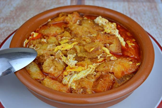 Paso 7 de Sopa de ajo a la castellana
