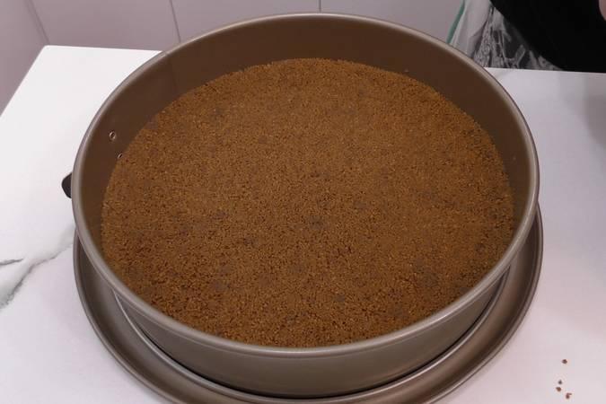 Paso 2 de Tarta de arroz con leche sin horno