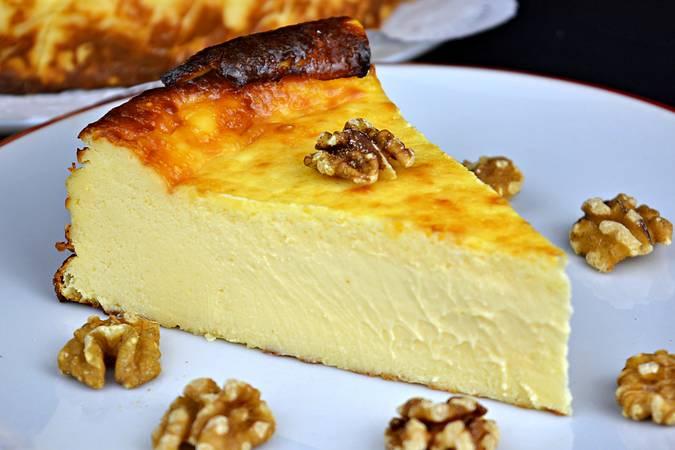 Ya hemos terminado la tarta de queso de La Viña