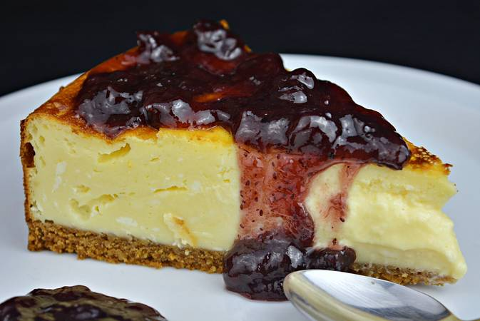 Paso 8 de New York cheesecake. Receta clásica.