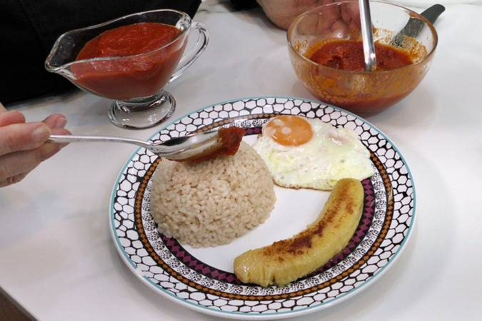 Paso 4 de Receta de arroz a la cubana fácil y sabrosa