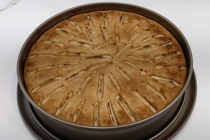 Paso 7 de Cómo hacer tarta de manzana receta muy fácil