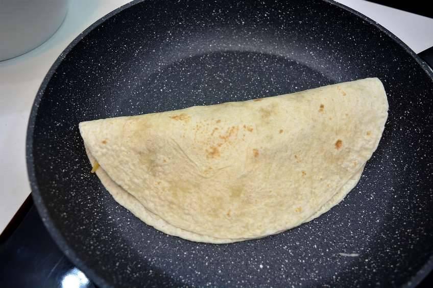 Paso 4 de Quesadillas mexicanas a mi estilo