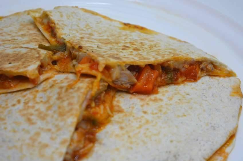 Paso 5 de Quesadillas mexicanas a mi estilo