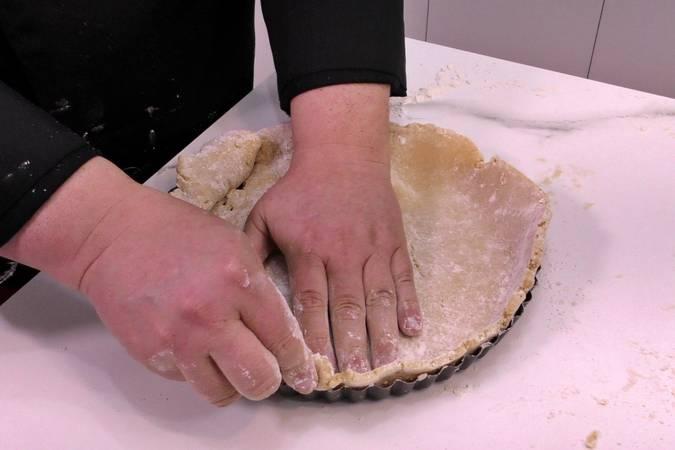 Paso 6 de Tarta de plátano con crema de queso