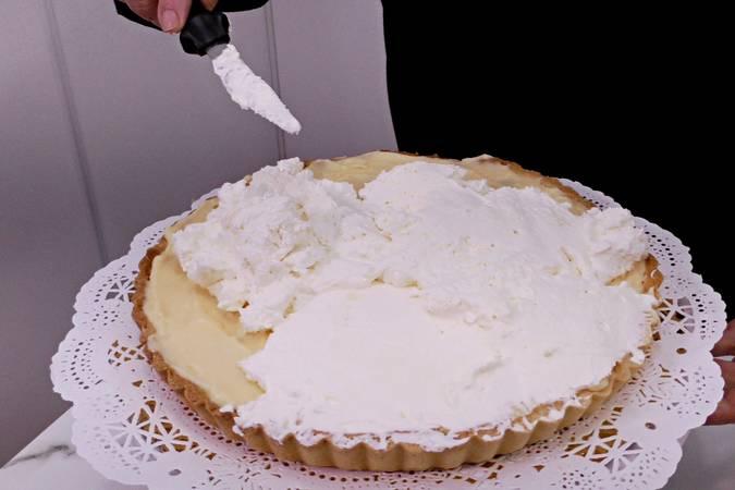 Paso 11 de Tarta de plátano con crema de queso