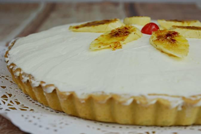 Paso 13 de Tarta de plátano con crema de queso