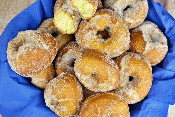 Paso 7 de Rosquillas de limón esponjosas