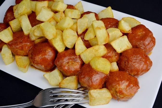 Paso 9 de Albóndigas con patatas