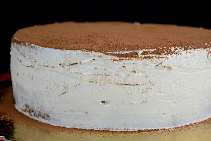Ya hemos terminado el pastel de tiramisú