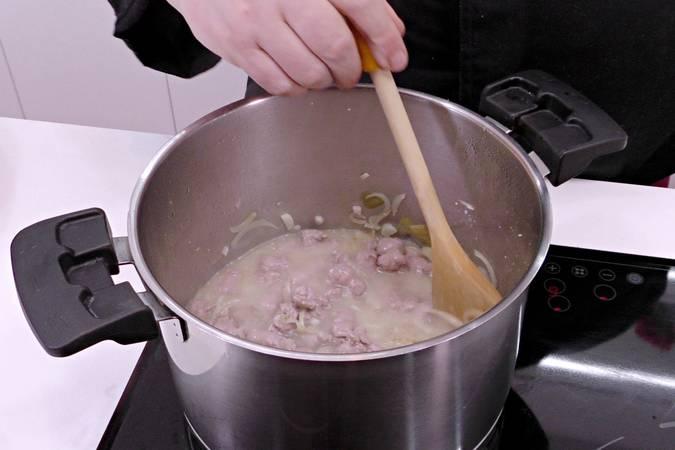 Cocinamos las salchichas