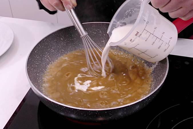 Paso 3 de Salsa de caramelo o salsa toffee