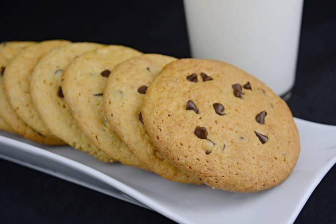 Ya hemos terminado las cookies de chocolate o cookies americanas