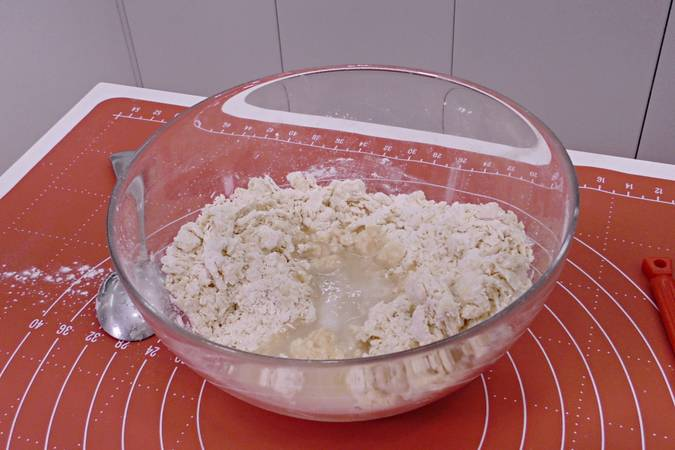 Paso 2 de Rosquillas de pueblo, receta casera