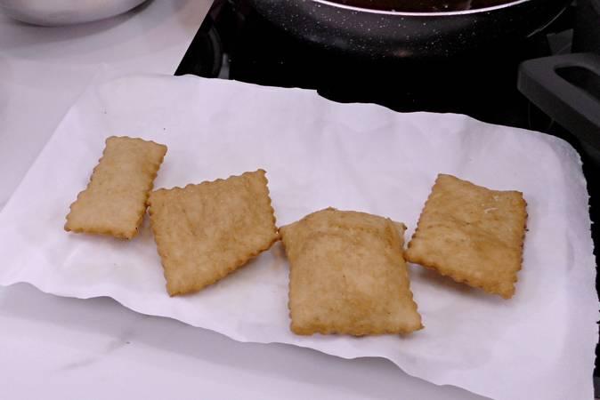 Paso 5 de Rosquillas de pueblo, receta casera