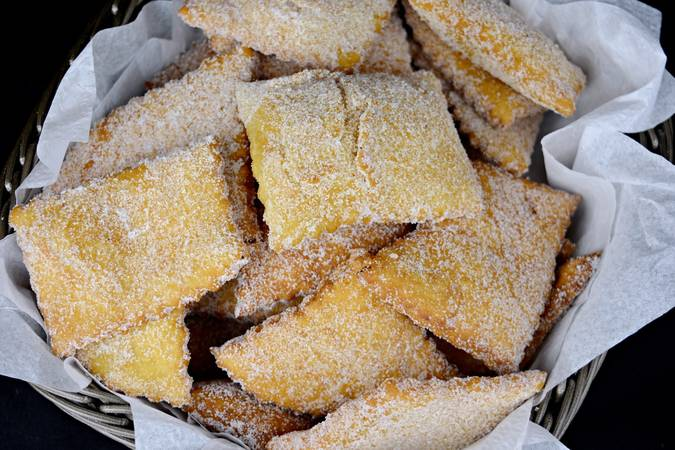 Paso 7 de Rosquillas de pueblo, receta casera