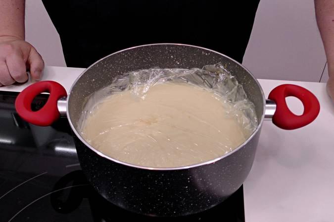 Dejar enfriar la crema