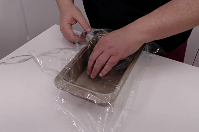 Preparar el molde