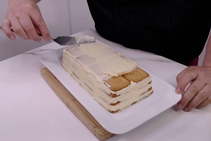 Paso 7 de Tarta de limón y galletas sin horno