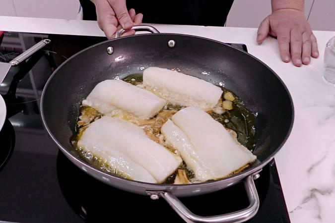 Cocinar el bacalao a baja temperatura