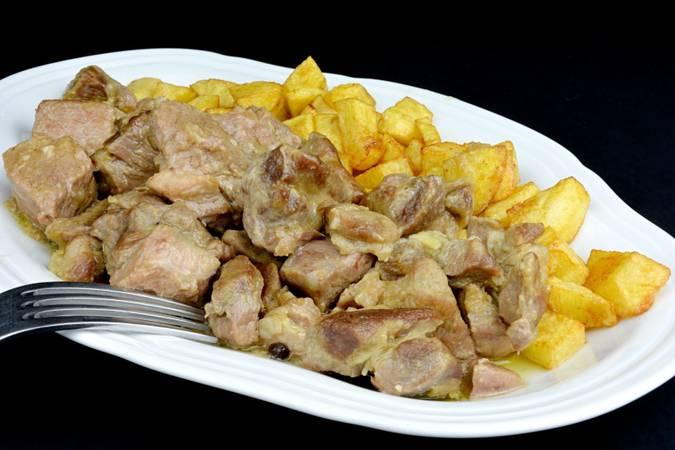 Paso 7 de Cabezada de cerdo guisada a la pimienta
