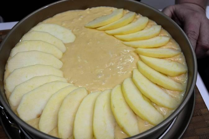 Paso 5 de Tarta de manzana muy fácil