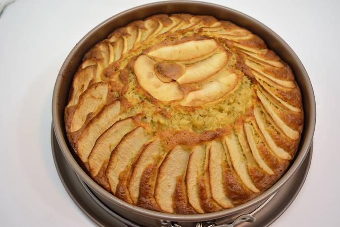 Paso 7 de Tarta de manzana muy fácil
